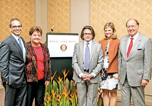 Royal Park Hotel organizó Reunión de Executive Forums