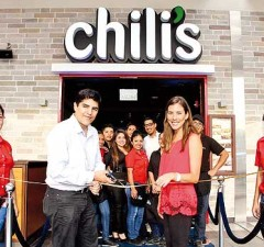 Chili´s inaugura un nuevo local