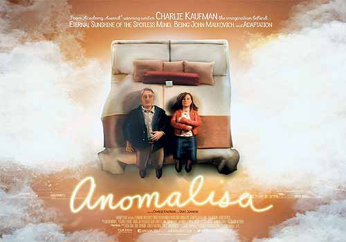 """Anomalisa"" (Charlie Kaufman y Duke Johnson)"
