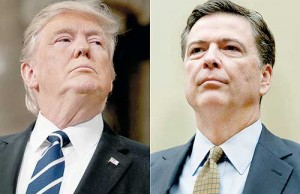 Donald Trump - James Comey.