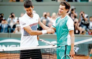 Dominic Thiem  - Novak Djokovic