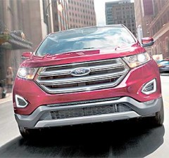 New Ford Edge 2017