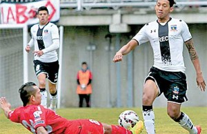 "Christopher ""Canchita"" Gonzales en Colo Colo Chile"