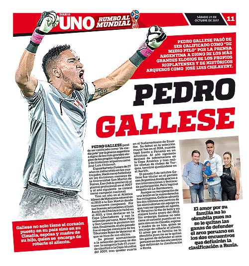 Poster Pedro Gallese