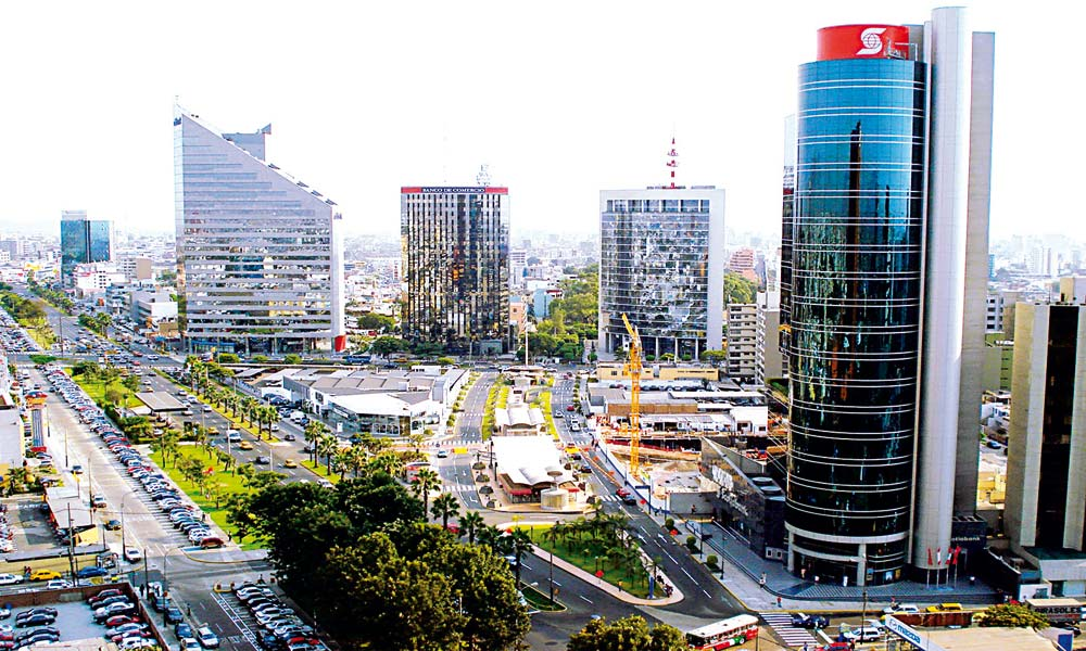 Centro financiero de Lima