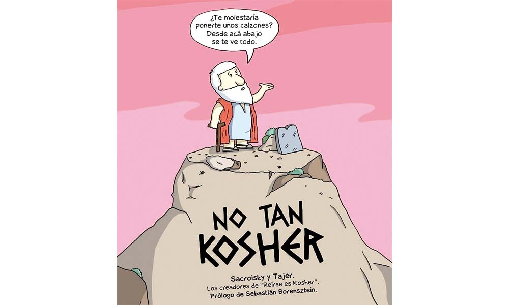 """No tan kosher"". Humor (no tan) judío"