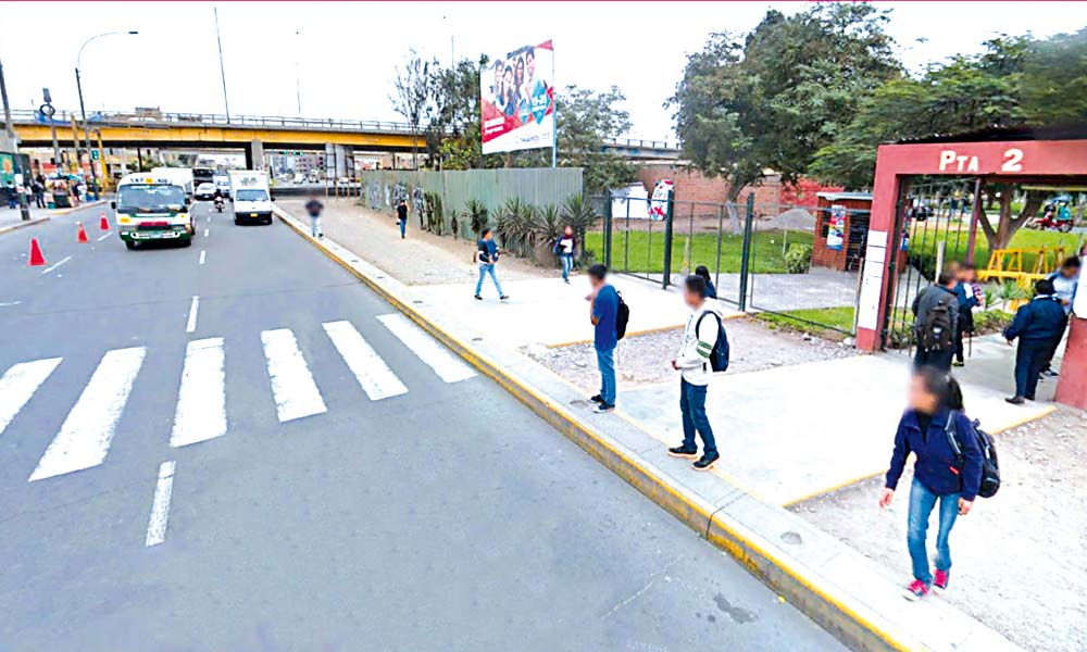 Universidad Nacional Mayor de San Marcos - Intercambio vial