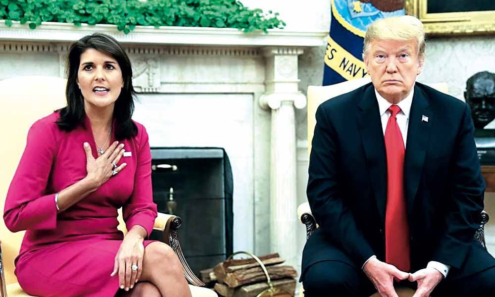 Nikki Haley - Embajadora - Donald Trump