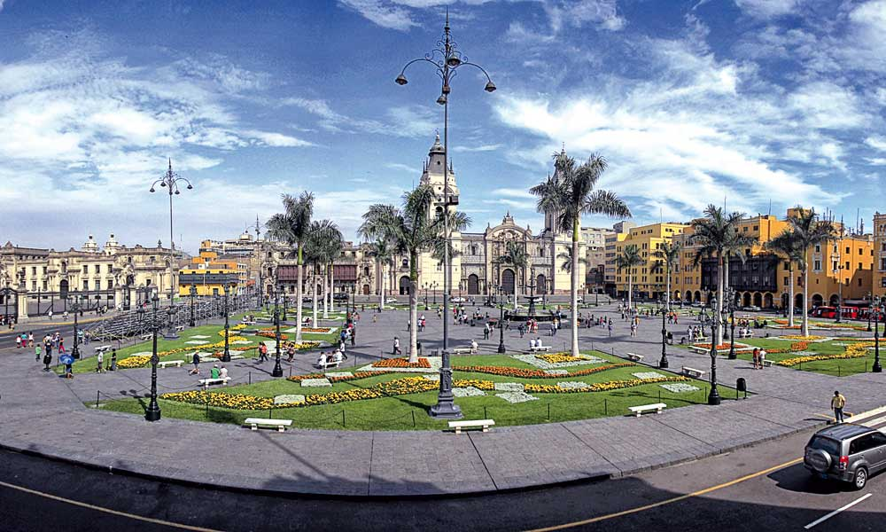 Plaza de Armas de Lima