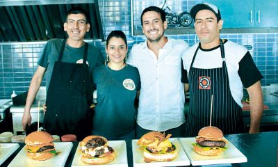 Conoce las hamburguesas artesanales de The Burger Factory