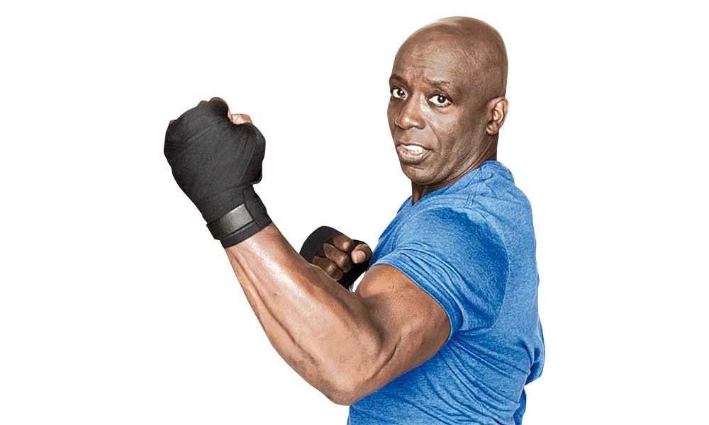 Grand Máster Billy Blanks CREADOR DEL TAE BO