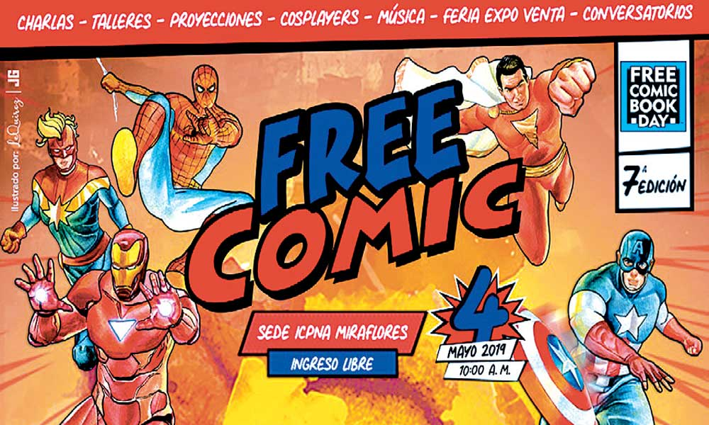 VII Free Comic Book Day ICPNA 2019
