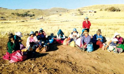Campesinos agricultores