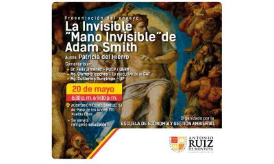 La invisible mano invisible de Adan Smith