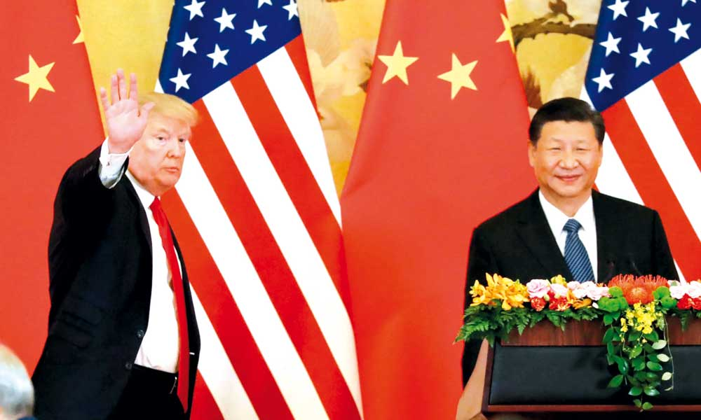 Donald Trump - Xi Jinping - Estados Unidos - China