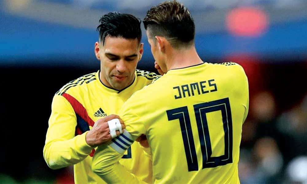 Colombia - James Rodríguez . Falcao