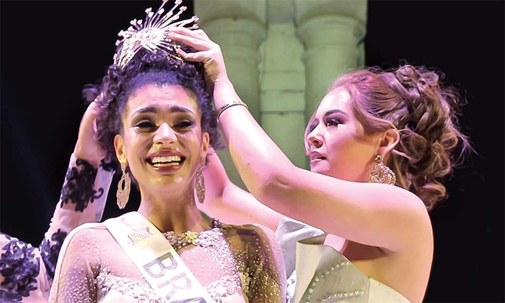 Reina de Brasil se coronó Miss Teen Model Internacional 2019
