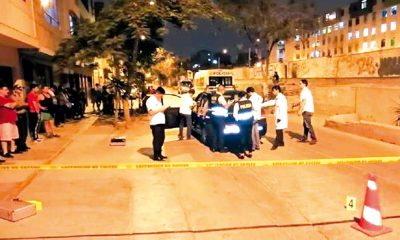Delincuentes balean a taxista