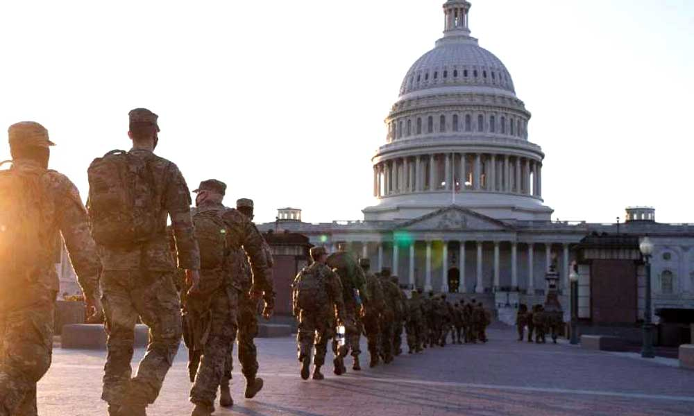 Alertan posible ataque a Congreso en Washington