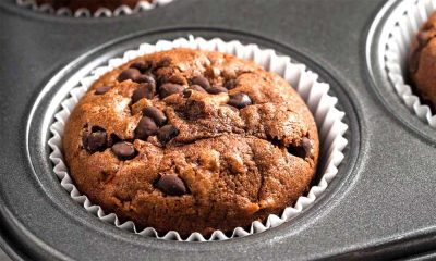 Muffines de chocolate