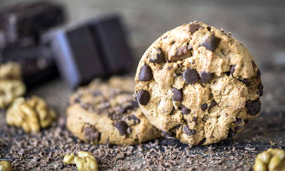 Galletas con chispas de chocolate (Chocolate chip cookies)